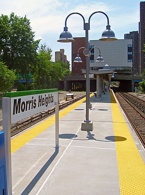 Morris Heights (Metro-North station) - The Morris Heights Metro-North station