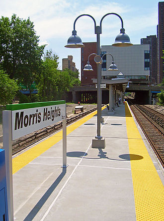 Morris Heights, Bronx - Metro-North's Morris Heights station