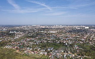 Serpukhov City in Moscow Oblast, Russia