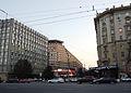 Moscow, Smolenskaya-Sennaya sq, 23-25 - Strela (2010s) by shakko 04.JPG