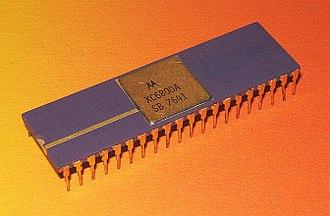 Microprocessor - Motorola 6800