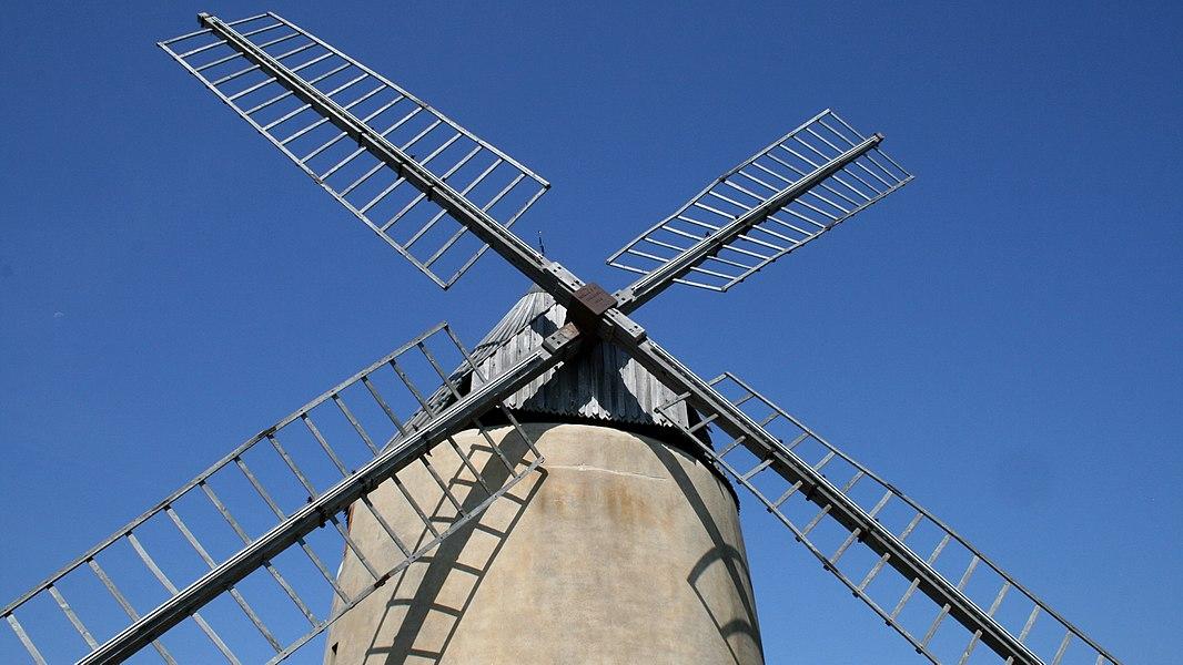 Moulin à vent de Vignasse - Ailes du moulin