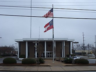 Moultrie, Georgia - Moultrie Municipal Building (City Hall)