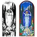 Mount Thompson Crematorium Brisbane-Bustard Christensen mural comparison.jpg