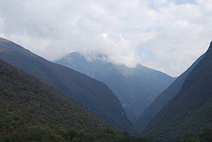 Sierra Gorda - Mountains at the junction of the Arroyo and Jalpan Rivers in Arroyo Seco