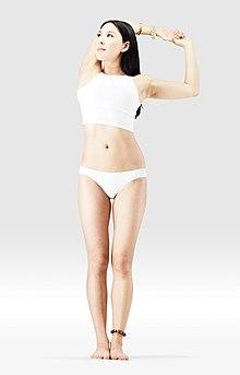 220px Mr yoga shoulder stretch 1 yoga asanas Liste des exercices et position à pratiquer