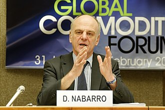 David Nabarro - Dr. Nabarro addresses Global Food Security Crisis at Global Commodities Forum, United Nations Conference on Trade and Development