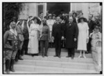 Mr. and Mrs. Winston Churchill at Government House reception on March 28, 1921, Jerusalem LOC matpc.04380.tif