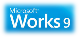 Microsoft Works productivity software suite
