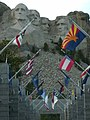 Mt. Rushmore 2010 with flags.jpg