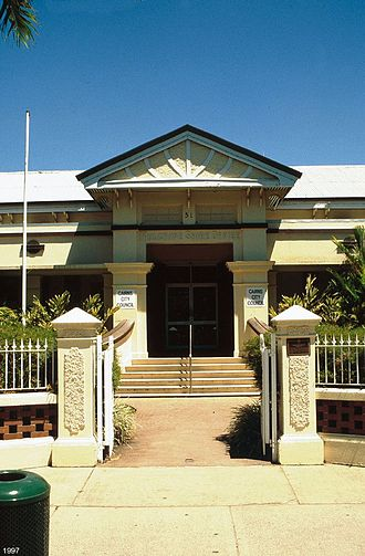 Shire of Mulgrave (Queensland) - Mulgrave Shire Council Chambers (also known as Cairns Shire Offices), The Esplanade, Cairns