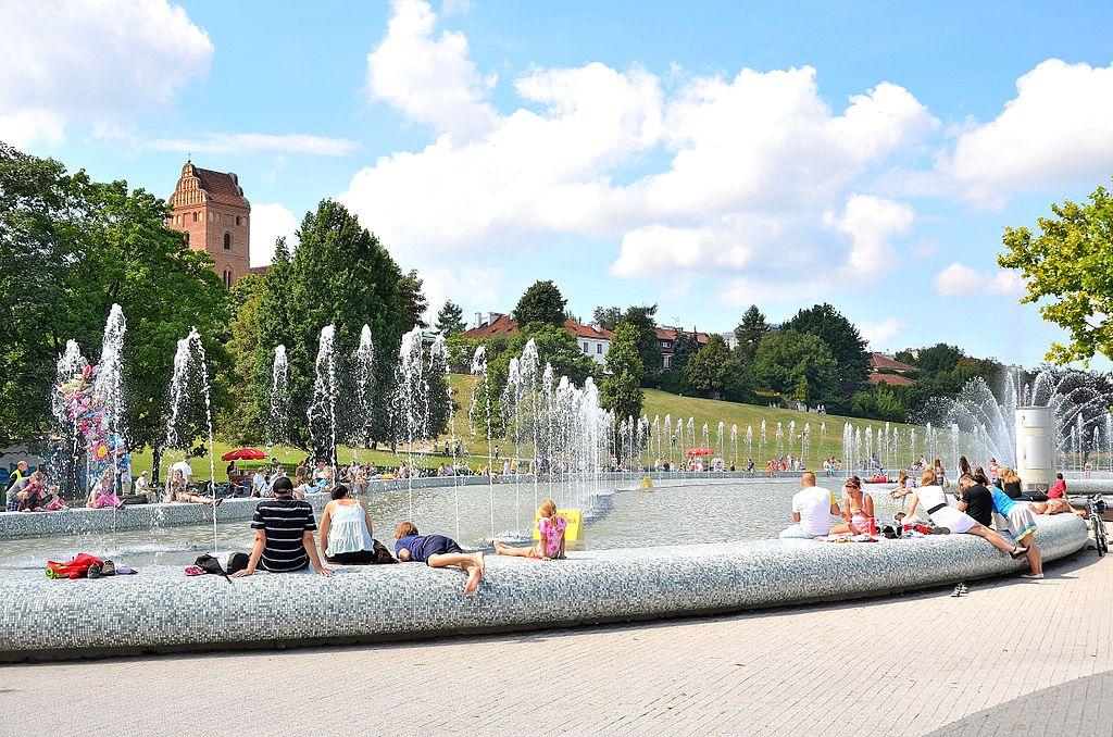 Multimedialny Park Fontann Warszawa