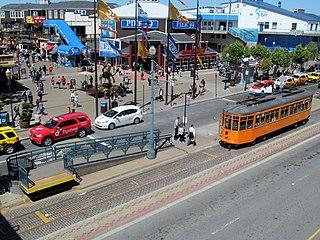 The Embarcadero and Stockton station