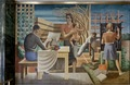 """Mural """"The Security of the People"""" by Seymour Fogel located in the Wilbur J. Cohen Federal Building, Washington, D.C LCCN2013634371.tif"""
