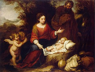 Rest in the flight to Egypt