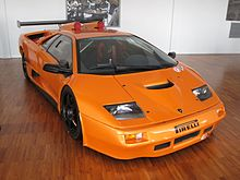 Lamborghini Diablo GT2 Evoluzione On Display At The Lamborghini Museum