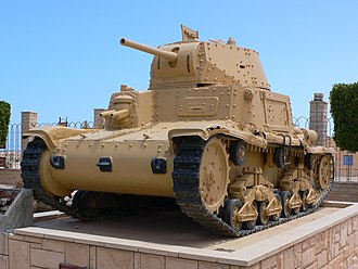 Fiat M13/40 - M 13/40 at the El Alamein War Museum