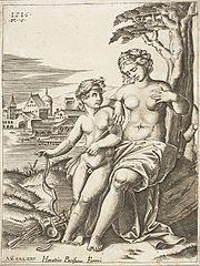 Wenus i Amor (Kupidyn)