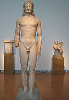 kouros greek sculpture