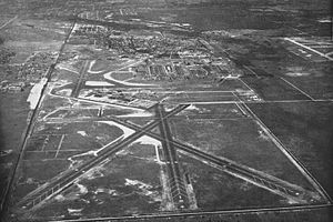 Coast Guard Air Station Miami - Aerial view of NAS Miami in the mid-1940s
