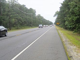 County Route 530 (New Jersey) - CR 530 and Route 70 westbound in Manchester Township