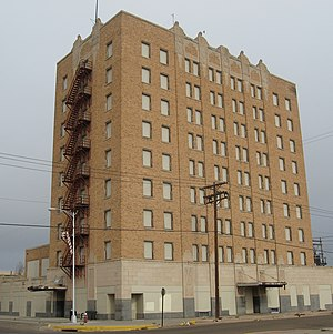 Clovis, New Mexico - The Hotel Clovis