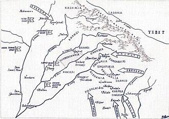 Sukerchakia Misl - Image: NORTHERN INDIA 1780 by hellbat