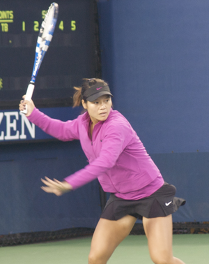 Na Li at the 2009 US Open