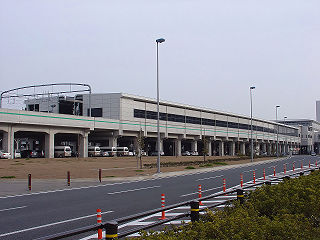 Central Japan International Airport Station Railway station in Tokoname, Aichi Prefecture, Japan