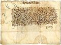 Najstarejše vabilo na kranjski deželni zbor 1463.jpg