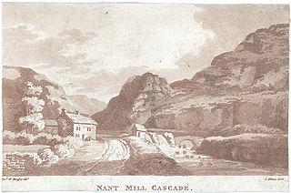Nant Mill Cascade