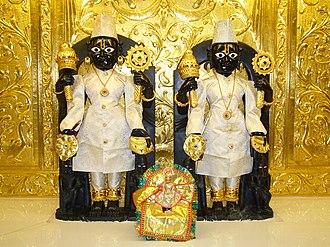 Shri Swaminarayan Mandir, New Jersey (Colonia) - Image: Nar Narayan New Jersey USA