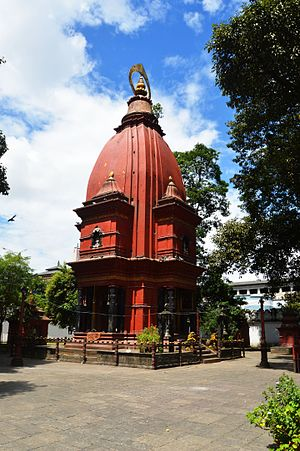Narayana - Image: Narayan Temple on Narayanhiti palace premises 01