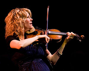 Natalie MacMaster -  MacMaster performs at Edmonds Center for the Arts, North of Seattle, WA Oct 23, 2010