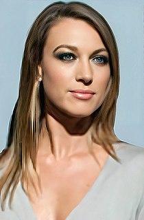 Natalie Zea American actress