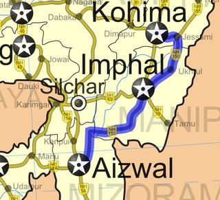 Tipaimukh Road
