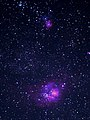 Nebulosa laguna M 8 e nebulosa trifida M 20.jpg