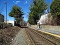 Needham Heights station platform (2), March 2016.JPG