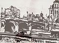 Nemes Lampérth - Detail from Paris with a bridge on the Seine.jpg
