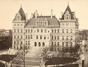 123rd New York State Legislature - Image: New York State Capitol in 1900