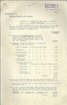 Military history of New Zealand during World War II - Wikipedia