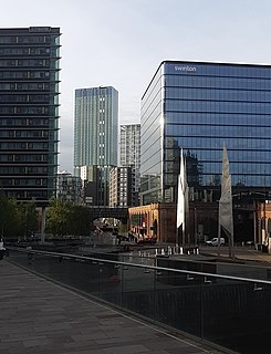 City of Salford Metropolitan borough and city in England