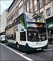 Newcastle upon Tyne ... Stagecoach electric hybrid NK11 DJE. - Flickr - BazzaDaRambler.jpg