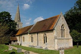 Newington, Oxfordshire - Image: Newington St Giles SE