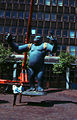 Nicholas Monro's King Kong statue in original colours.jpg