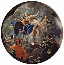 Nicolas Poussin: Time defending Truth against the attacks of Envy and Discord