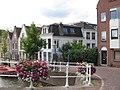 Nieuwe Mare 3, Leiden met Marepoortbrug.jpg