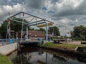Nieuwe Pekela - Image: Nieuwe Pekela, ophaalbrug de Ommelanderklap foto 6 2014 07 12 14.06