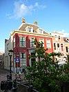 foto van Herenhuis met straathek, rechte kroonlijst
