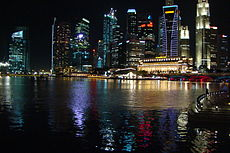 Night view of the Central Business District and Marina Bay, Singapore.jpg